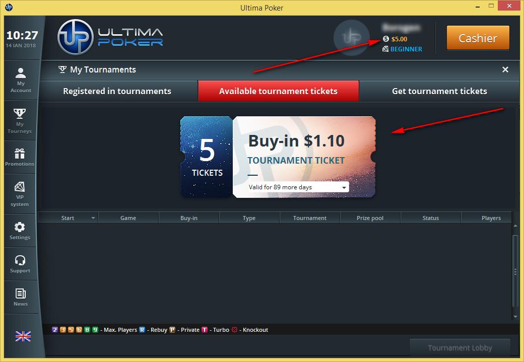 Ultima poker 10-free
