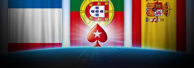 Portugal Francia España en PokerStars.es