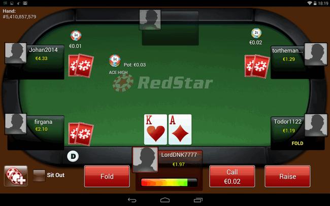 Софт Ред Стар Покер